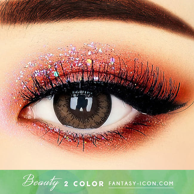 Beauty 2 Color Brown Toric Lens - Colored Contacts For Astigmatism beautiful eyes