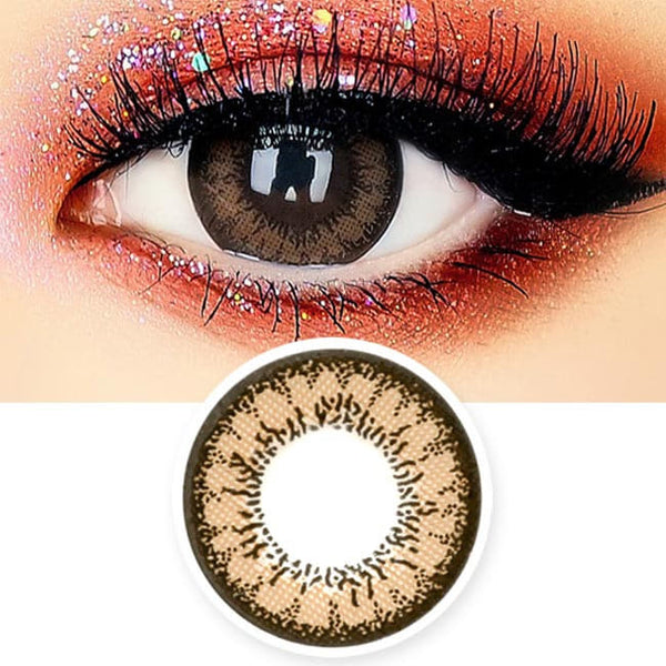 Beauty 2 Color Brown Toric Lens - Colored Contacts For Astigmatism