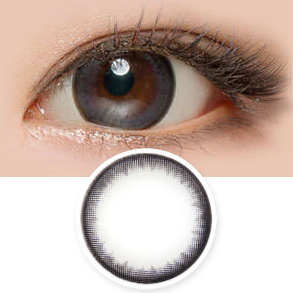 Toric Lens Natural Black Colored Contacts For Astigmatism