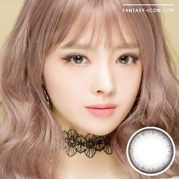 Toric Colored Contacts for Astigmatism - Pearl Grey 1