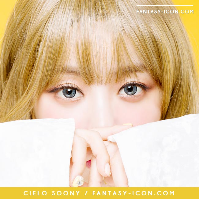 Grey Toric Colored Contacts for Astigmatism - Cielo soony 3
