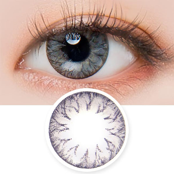 Toric Lens Cielo soony Grey Colored Contacts For Astigmatism