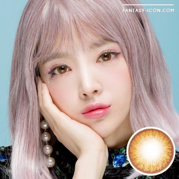 Toric Colored Contacts for Astigmatism - Lily Danbi Brown 1