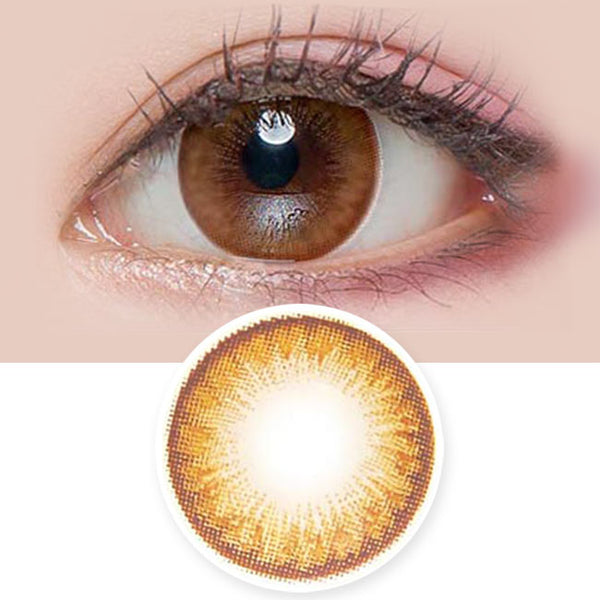 Toric Colored Contacts for Astigmatism - Lily Danbi Brown