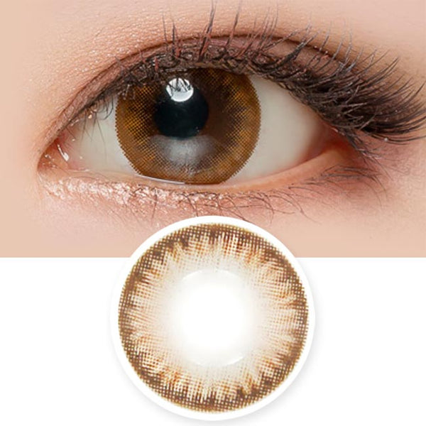 Toric Colored Contacts for Astigmatism - beaute Shine Brown