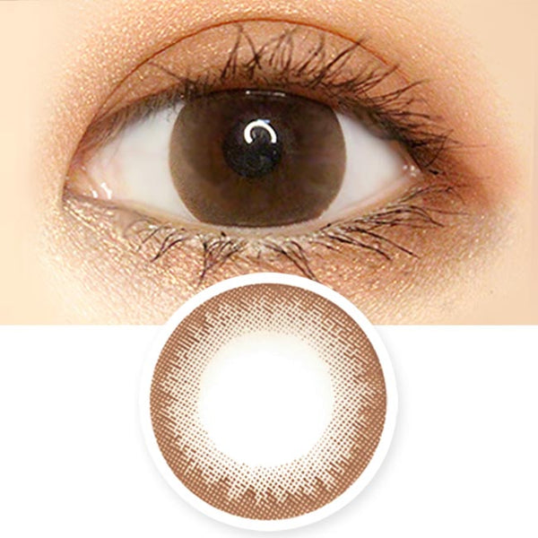 Daisy Chocolate Brown Toric Lens Colored Contacts For Astigmatism