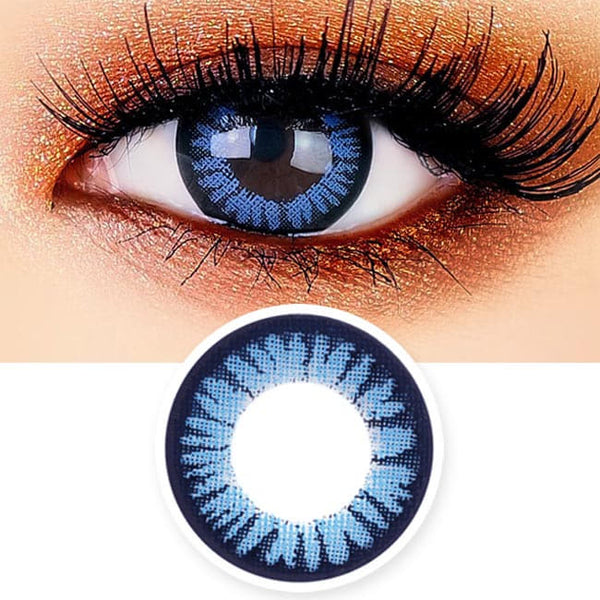 Blue Toric Lens Juicy Cara Colored Contacts For Astigmatism