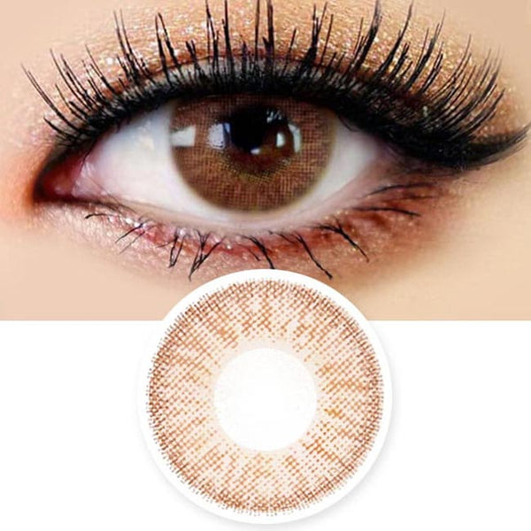 Innovision Honey Glamour Brown Contacts | UV Blocking