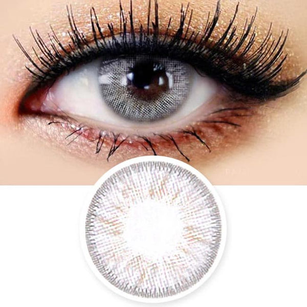 Innovision Honey Glamour White Grey Contacts | UV Blocking