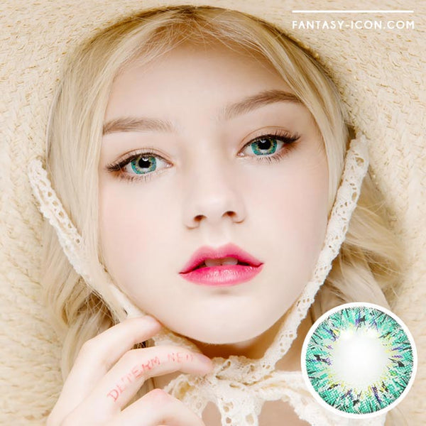 Colored Contacts Villea Blush Blue - Circle Lenses 1