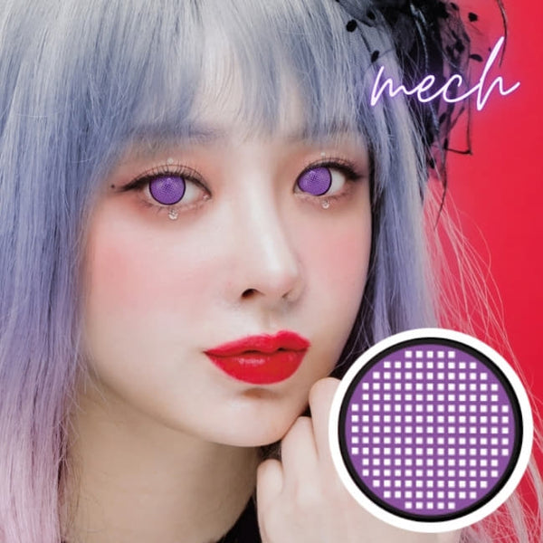 Anime Mesh Line Cosplay Violet Contacts | Demon slayer