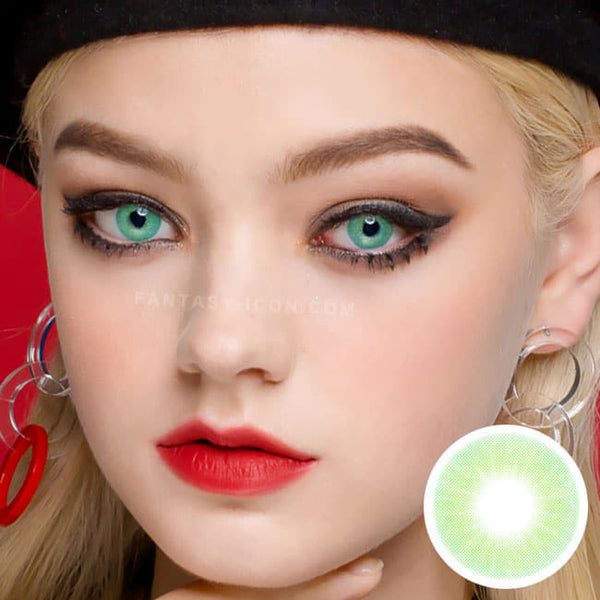 Fancy Emerald Green Contacts 2