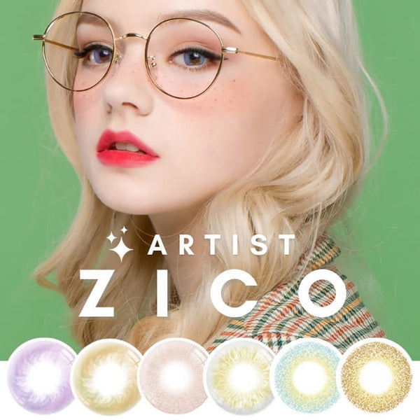 Artist ZICO COLOR CONTACTS