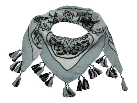 EMBOSS SCARF