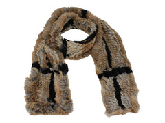 FUR SLASH SCARF