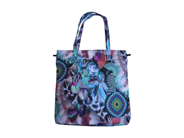 TOTE BAG (GREEN PRINT)