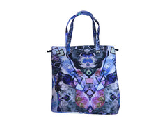TOTE BAG (PURPLE PRINT)