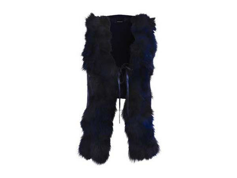 TROUBADOUR FOX FUR VEST