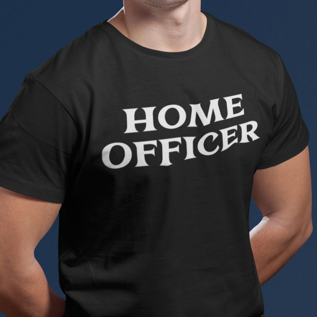 HOME OFFICER UNISEX PREMIUM SHIRT