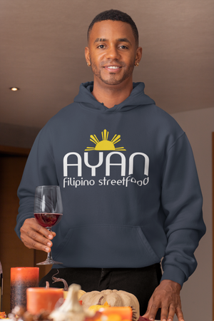 Bequemer AYAN FILIPINO STREET FOOD Hoodie