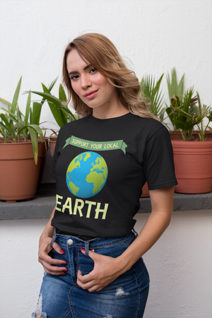 SUPPORT YOUR LOCAL EARTH PREMIUM SHIRT