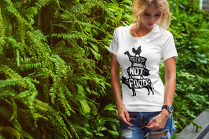 FRIENDS NOT FOOD PREMIUM SHIRT