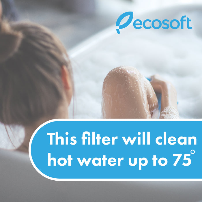 "Ecosoft 1/2"" Sediment (Stage 1) Filter with Housing"