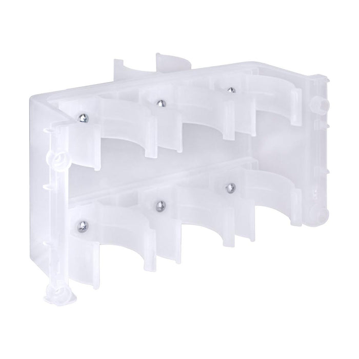 "Plastic Filter Bracket For 4 Stage ""11-14"" Filters, Specs For 3000u ""Stand Up"""