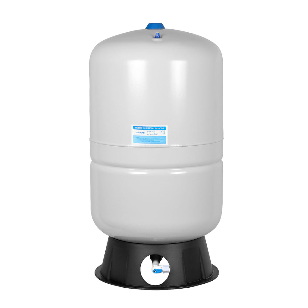 Brio White 20 GAL. Metal Tank for RO Water Filter Systems