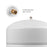 Brio White 2 GAL. Metal Tank for RO Water Filter Systems