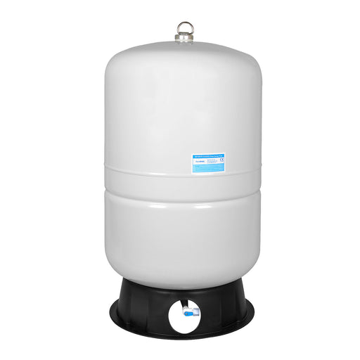 Brio White 40 GAL. Metal Tank for RO Water Filter Systems
