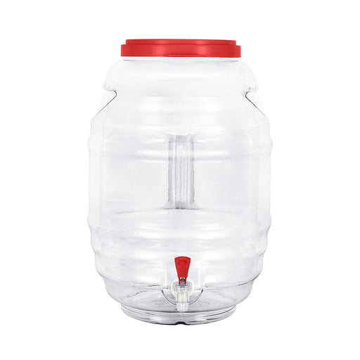5 Gallon BPA Free Reusable Plastic Beverage Jar with Handle & Cap