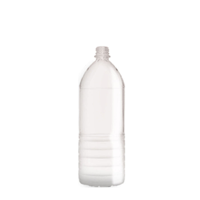 1/2 Liter PET Ribbed Reusable Water Bottle
