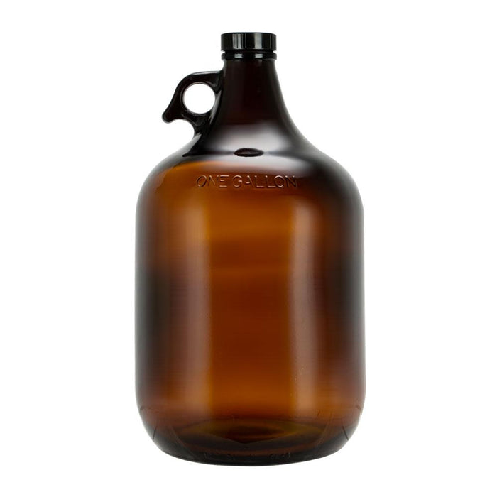 Brewing Glass Bottle, Amber Color