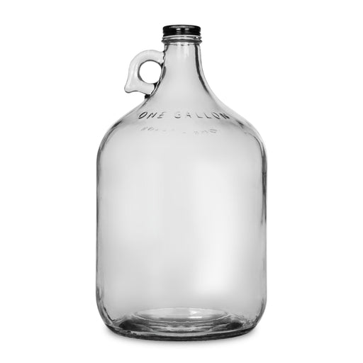 Glass Bottle, Carboy Bottle, with Screw Cap, GEO