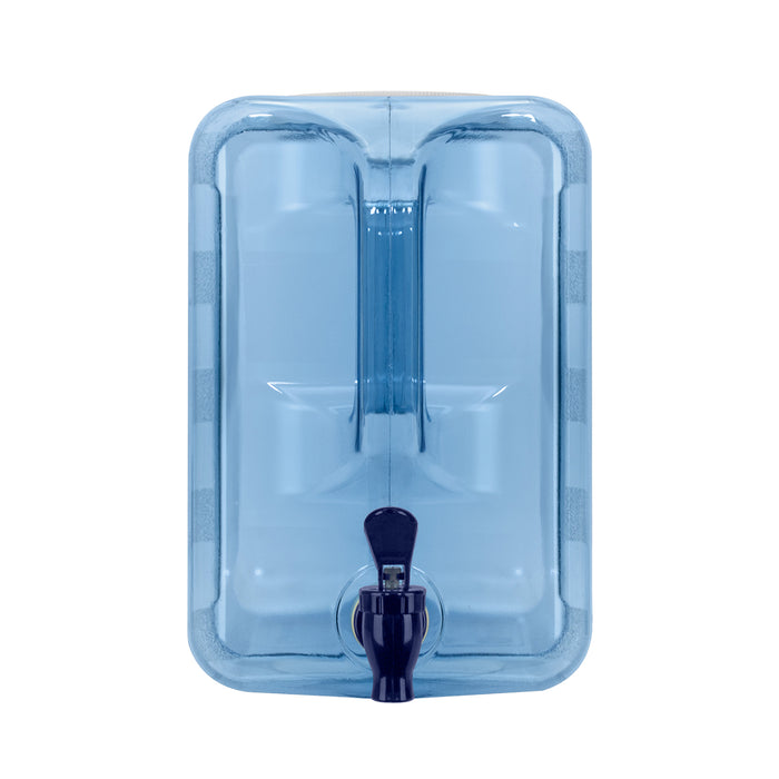 2 Gallon Polycarbonate Plastic  Water Bottle with Handle & Valve