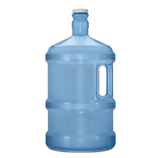 3 Gallon BPA Free Reusable Plastic Water Bottle with Screw Cap