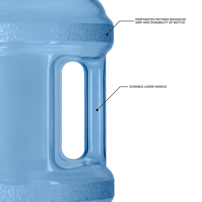 3 Gallon BPA Free Reusable Plastic Water Bottle with Screw Cap and Valve
