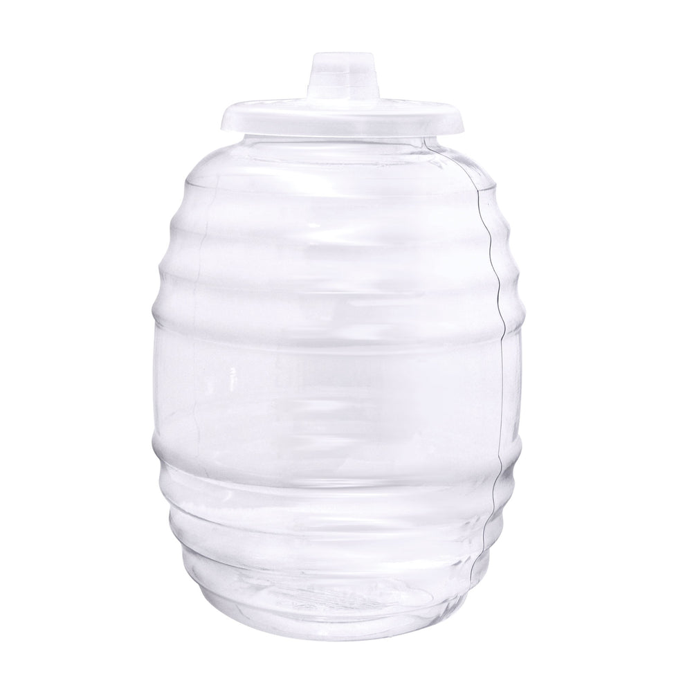 Big-Mouth 3 Gallon, PVC Reusable Beverage Jar with Lid