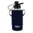 1 Liter Glass Water Bottle, Sports Bottle, with 65 mm Plastic Cap and Protective Sleeve, GEO