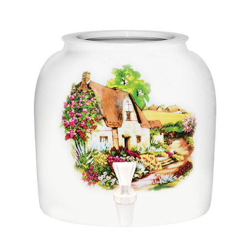 Cottage House Porcelain Water Crock