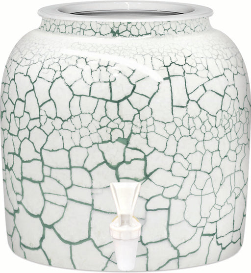 Green Marble Porcelain Water Crock