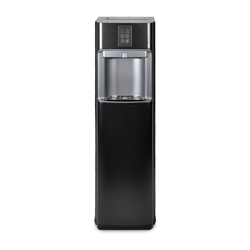 Hot Cold and Room Temp Filtered Water Dispenser Cooler POU, Tri Temp, Black, Brio Premiere