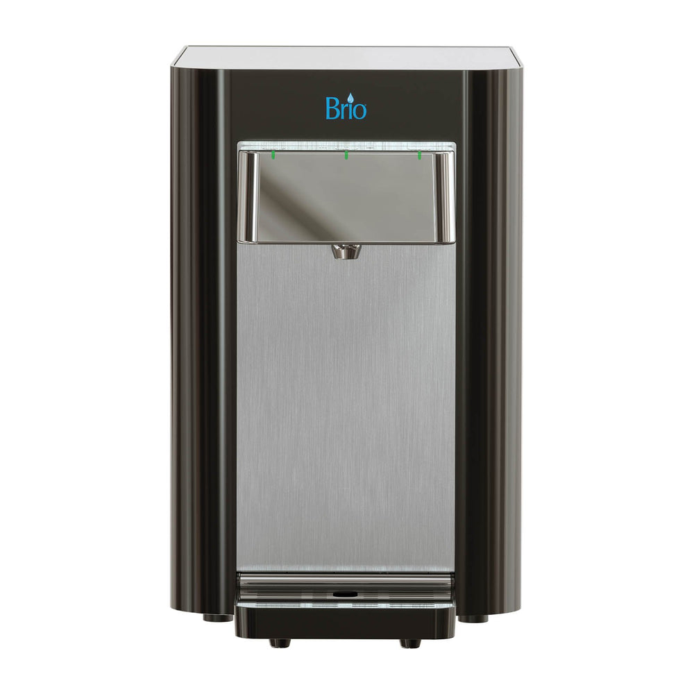 Brio Countertop Self Cleaning Bottleless Water Cooler Water Dispenser - 2 Stage Water Filter included