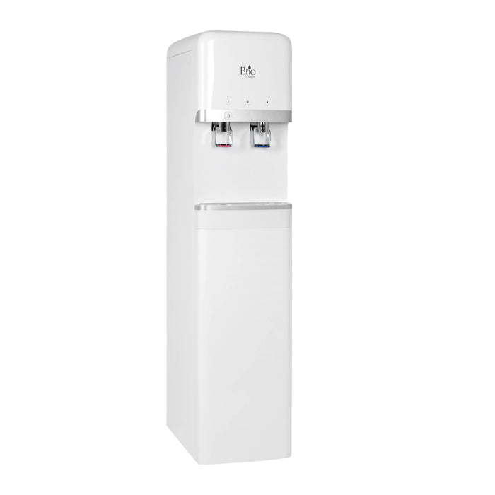 Hot and Cold Filtered Water Dispenser Cooler POU, Brio Premiere