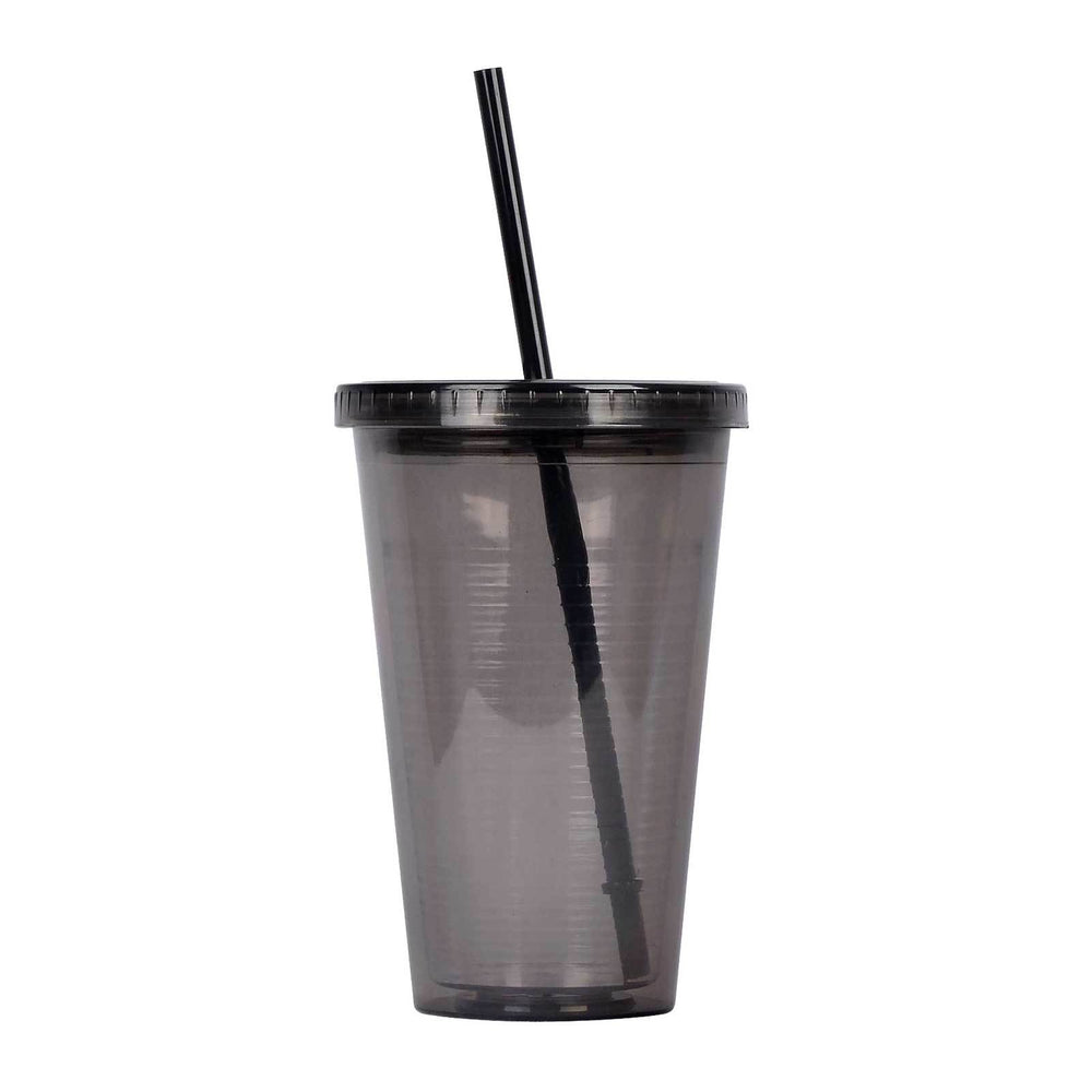 16 Ounce BPA Free Tumbler Cup, Double Wall, GEO