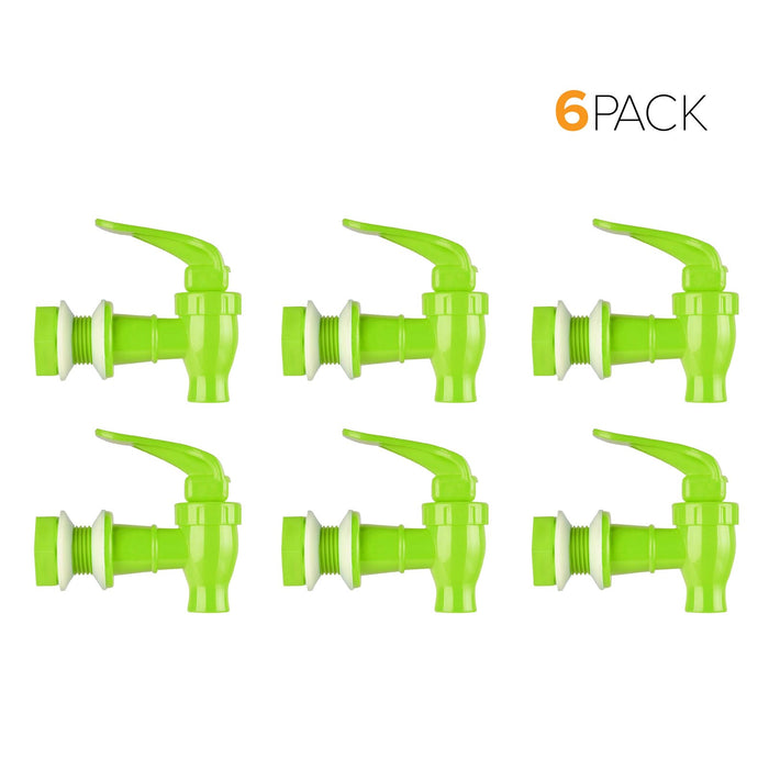 Standard Replacement Valve Display Packages (6-Piece) for Crocks and Water Bottle Dispensers