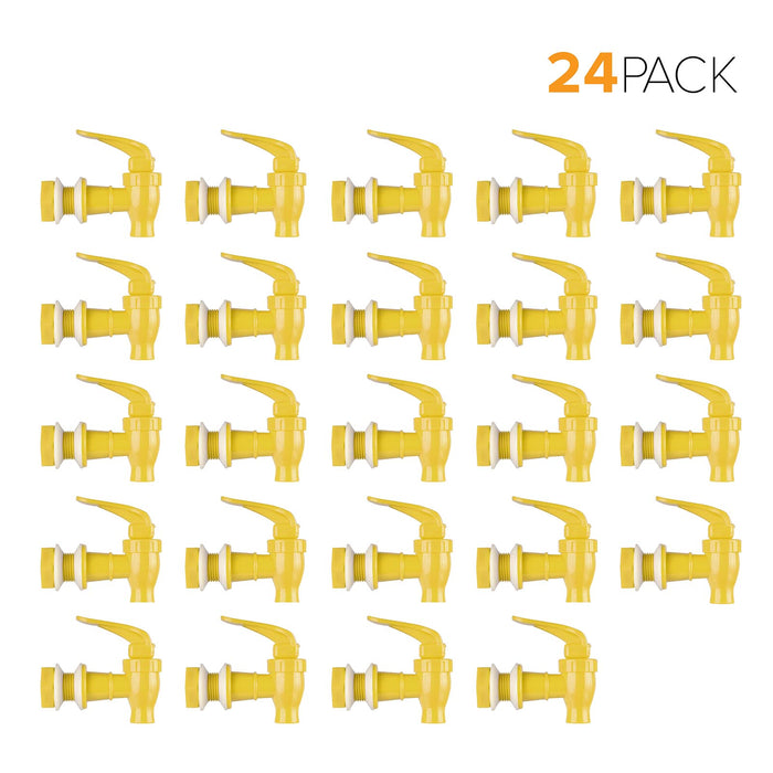 Standard Replacement Valve Display Packages (24-Piece) for Crocks and Water Bottle Dispensers