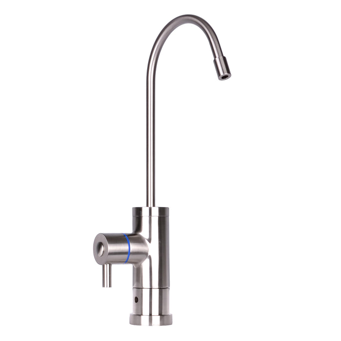 "Tomlinson Contemporary Faucet with  1/4"" Fit & Bright Nickel Finish"