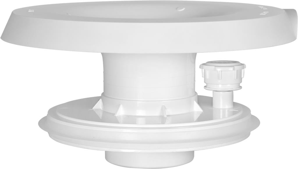 No-Spill System for Top Load Water Cooler, White